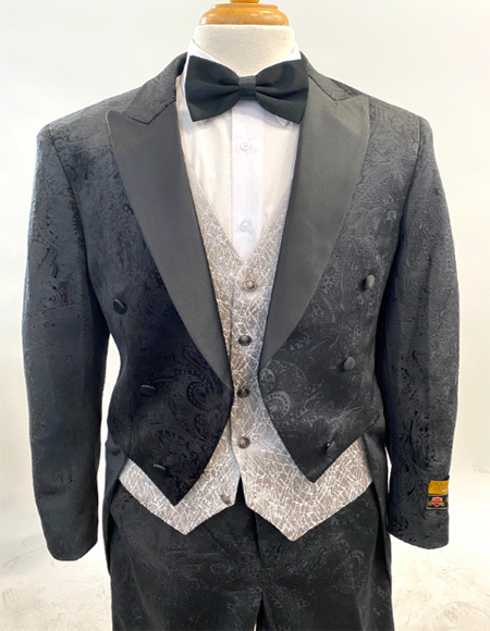 Fashion Tailcoat Tuxedo Morning
