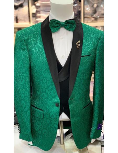 Wedding Blazer Lime Green