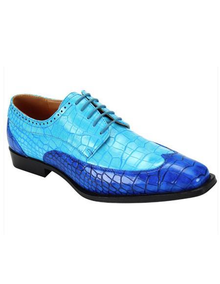 Blue Lace Up 5