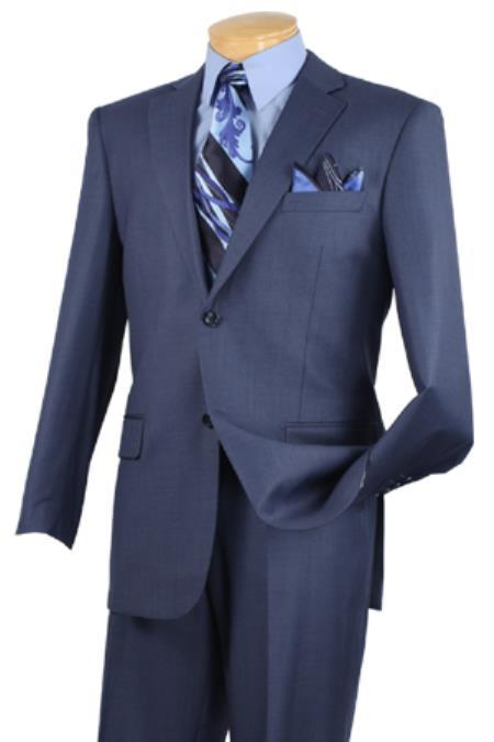 Big And Tall Suit Plus Size Mens Suits For Big Guys Blue