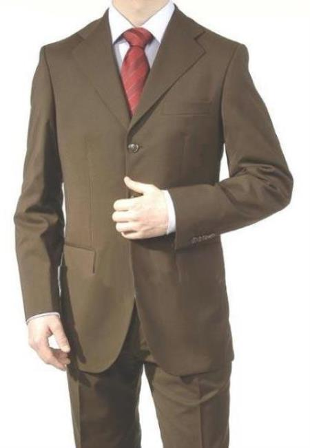 Big And Tall Suit Plus Size Mens Suits For Big Guys Dark Brown