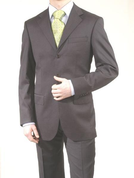 Big And Tall Suit Plus Size Mens Suits For Big Guys Charcoal Gray