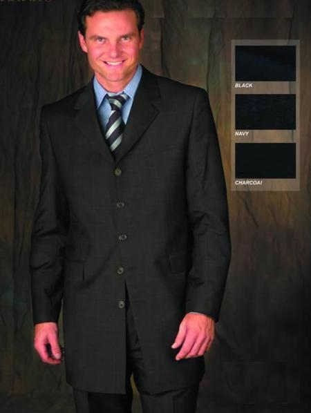 Mens Charcoal Suit for Funeral  Funeral Attire