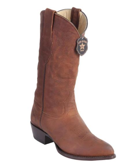 Los Altos Boots Maddog Honey Cowboy Boots J-Toe