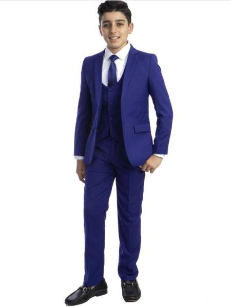 Royal Blue Boys Suit