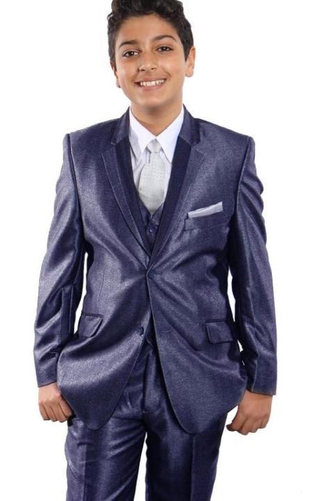 Blue Boys Suit