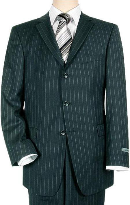 Cheap Plus Size Suits For Men - Big and Tall Suit For Big Guys  2 Buttons Style Jacket