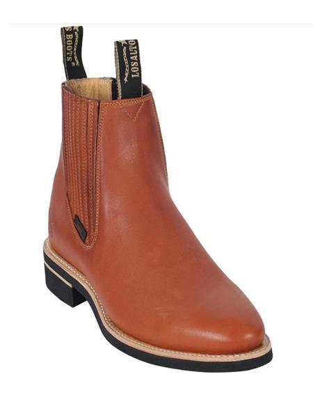 Honey Handmade Genuine Napa Leather Boots for Men
