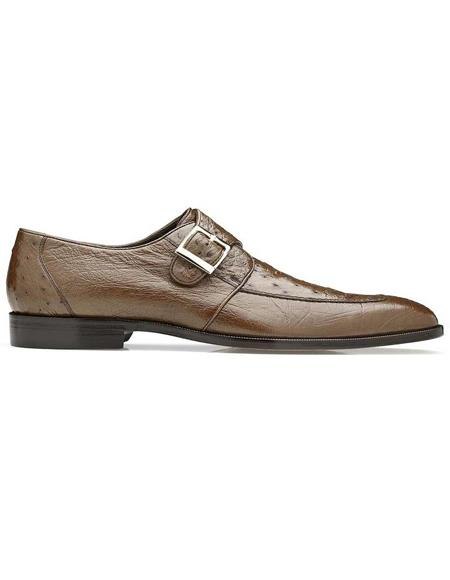 Mens Belvedere Brown Shoes