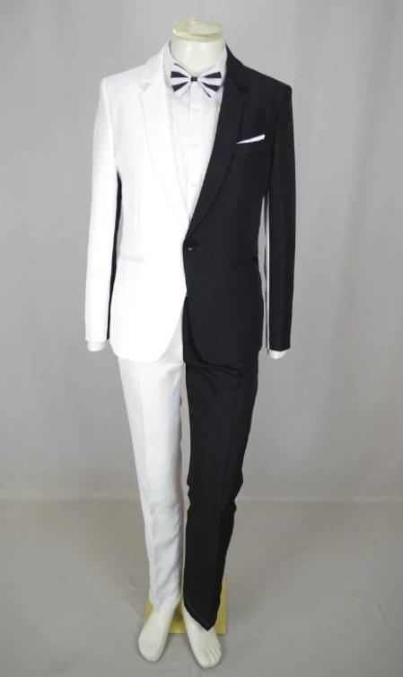 Men Peak Lapel Wedding Suit