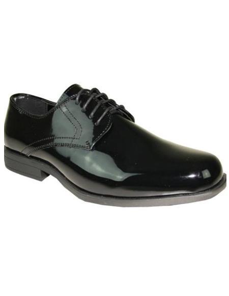 Mens Black Tuxedo Shoes