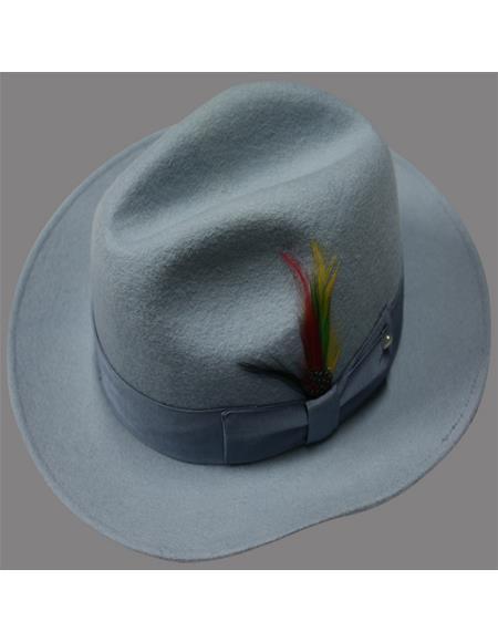 Untouchable Hat - Fedora Mens Hat Sky
