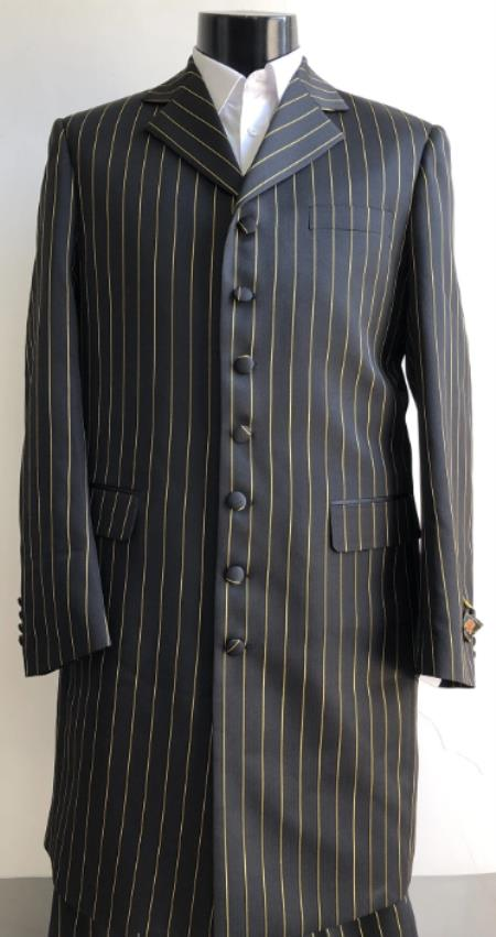 Big And Tall Suit Plus Size Mens Suits For Big Guys Black ~ Gold