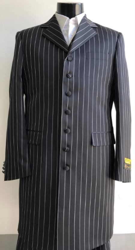 Big And Tall Suit Plus Size Mens Suits For Big Guys White ~ Black