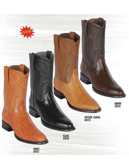 Los Altos Boots Caiman Belly Boots are classic and 100% Handcrafted - Alligator - Cowboy Boot