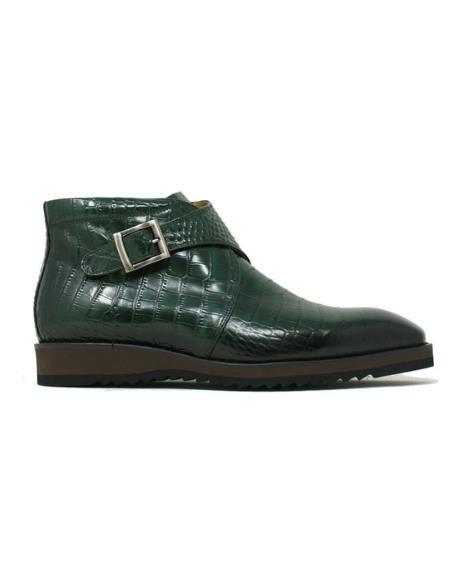 Men's KB515-11 Carrucci Monk Strap Chukka Boots
