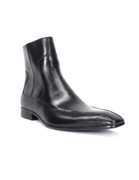 Men's KB470-01 Burnished Zip Boots