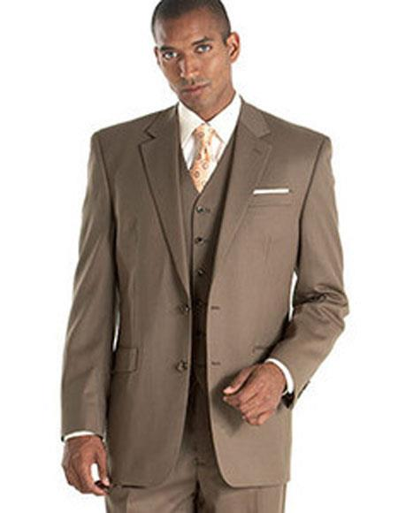 CH1934 Alberto Nardoni Best Mens Italian Suits Brands Taupe