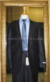 Button Style Navy Solid