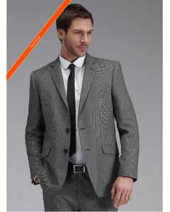 Grey Slim narrow Style Fit