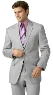 KA1330 2-Button Silver Suit