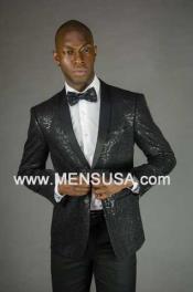 Sequin Blazer 2 Button Style