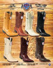 PN-R67 3X Toe Genuine Lizard Teju Cowboy Western Boots