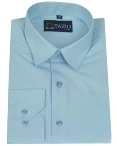 KA8796 Dress Shirt Slim narrow Style Fit - Aqua