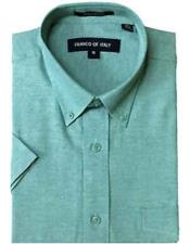 Men's Aqua Basic Button