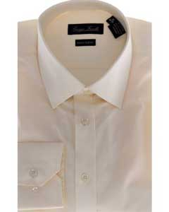 KA6985 Slim-Fit Dress Shirt - Solid beige
