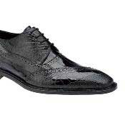 PN-Y65 Belvedere attire brand Nino Eel & Ostrich Shoes