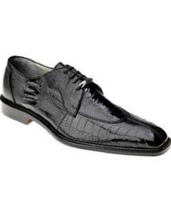 AC25Z Belvedere attire brand Siena Ostrich Lace Up Shoes