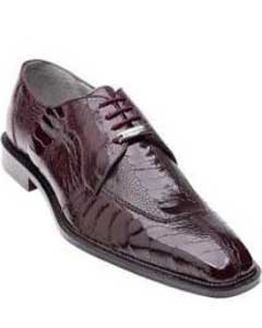 AC26Z Belvedere attire brand Siena Ostrich Lace Up Shoes