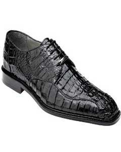95d30bf4c32 Belvedere Exotic Crocodile Skin Shoes