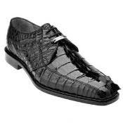 SS-159 Belvedere attire brand Colombo Hornback Crocodile Shoes for
