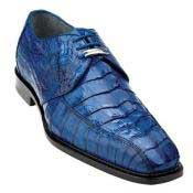 SS-146 Belvedere attire brand Colombo Hornback Crocodile Shoes for