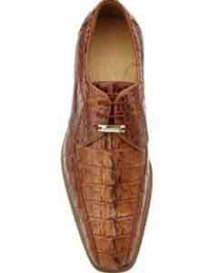 SS-741 Belvedere attire brand Colombo Hornback Crocodile Shoes for