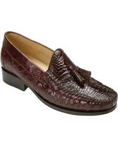 Brown Dress Shoe Belvedere attire