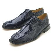 KA954 Navy Genuine Ostrich Leg by Belvedere attire brand