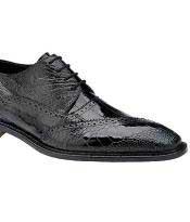 MK414 Belvedere attire brand Nino Eel & Ostrich Shoes