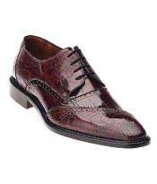 MK413 Belvedere attire brand Nino Eel & Ostrich Shoes