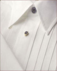 AC83Z Big And Tall Point Collar Tuxedo Dress Shirt