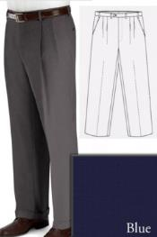 PN-G67 Big and Tall Dress Pants Slacks For Blue