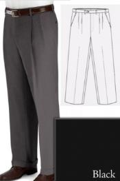PN88 Big and Tall Dress Pants Slacks For Liquid