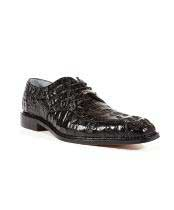Mens Chapo Caiman Crocodile Oxford