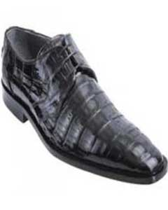 KA1517 Liquid Jet Black Genuine All-Over Crocodile ~ Alligator