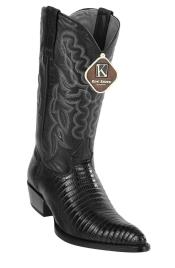 JSM-4071 Mens Western J Toe Style King Exotic Teju