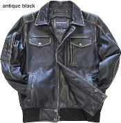 KA7214 Leather Bomber Jacket Cowhide brown color shade Liquid