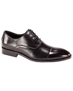 KF784 Oxford Dress Shoe Liquid Jet Black