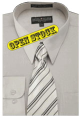 EG455 Basic Shirt with Matching Tie and Hanky